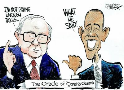 Buffett & Obama